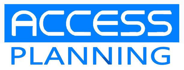 Access Plan Logo 空色